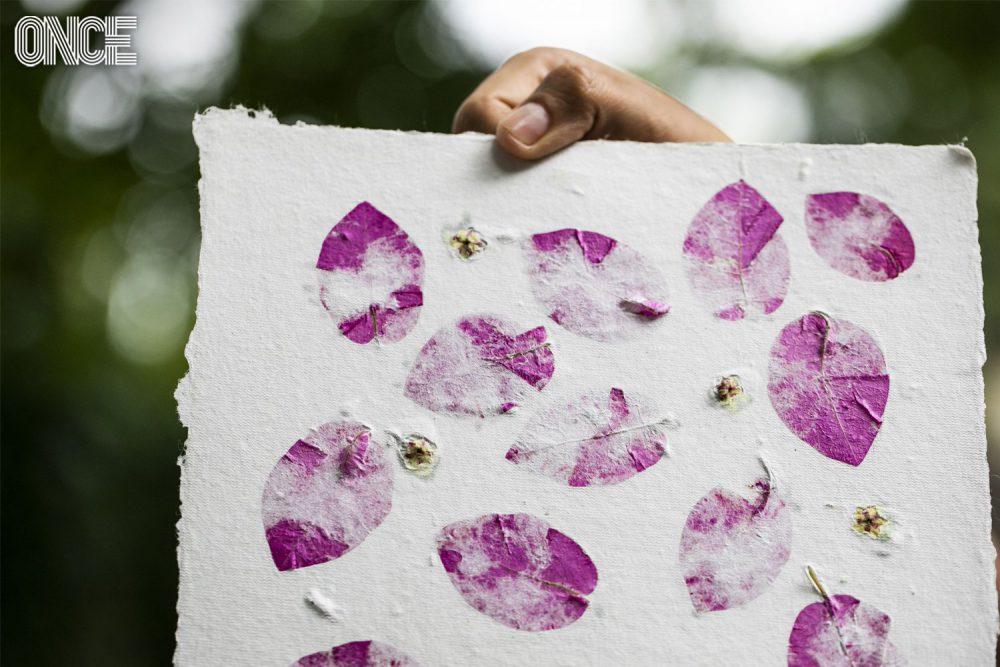 งานศิลปะจากกระดาษสา