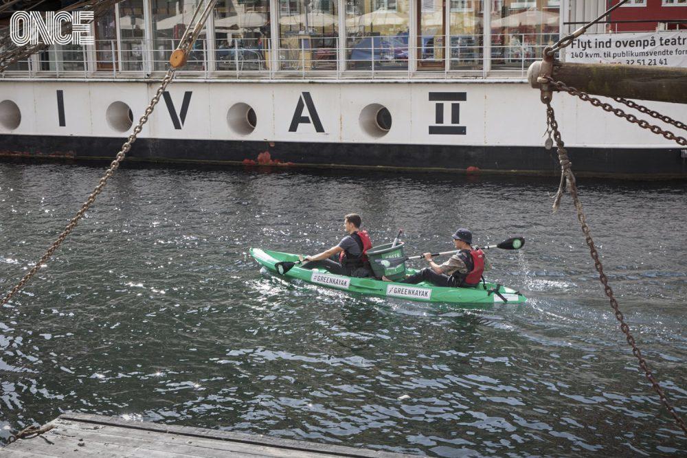 Clean Up Kayak